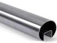 polished elliptical tube
