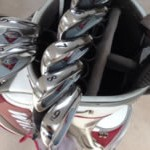 Golf Clubs - before and after polishing