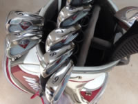Polished Golf Clubs