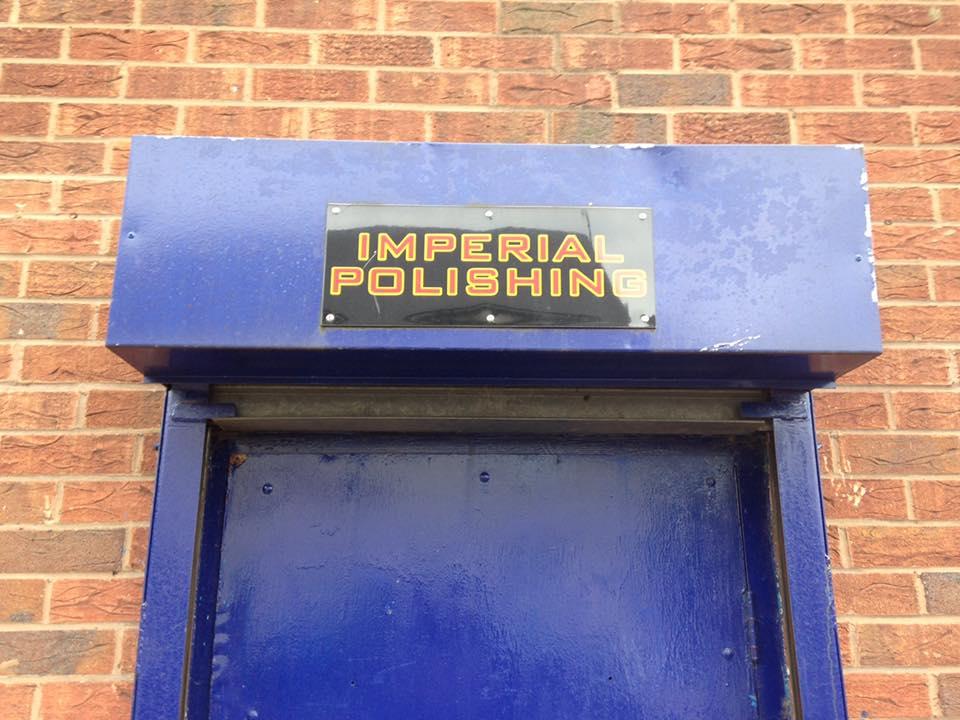 Imperials Front door